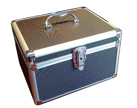 300 CD DVD Premium Aluminum Storage Carrying Case Black with hanging sleeves  sc 1 st  Amazon.com & Amazon.com: 300 CD DVD Premium Aluminum Storage Carrying Case Black ...