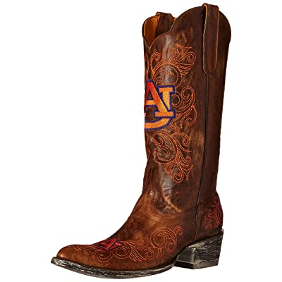 Gameday Women's Auburn University Cowgirl Boot Pointed Toe - Aub-L040-1