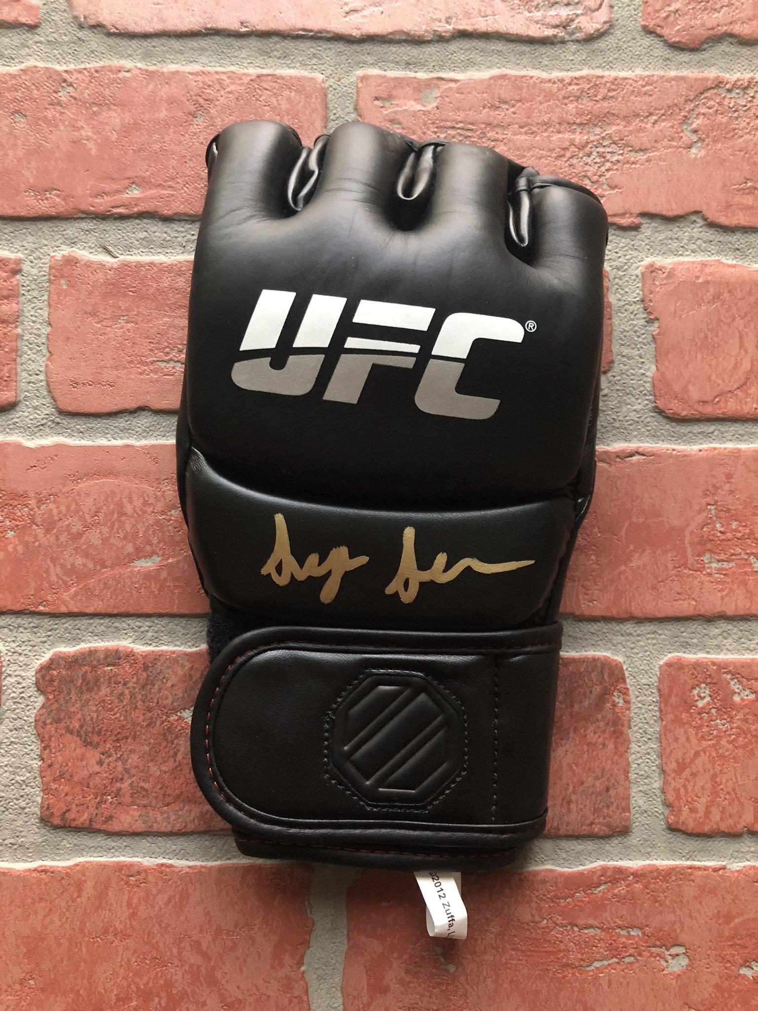 Sean O' Malley autographed signed glove UFC w/COA Suga Sean O' Malley