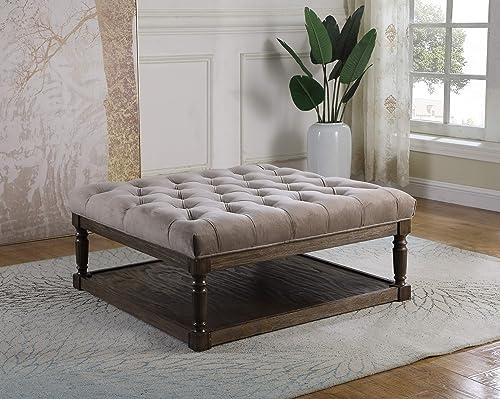 Best Master Furniture Kari Cocktail Ottoman