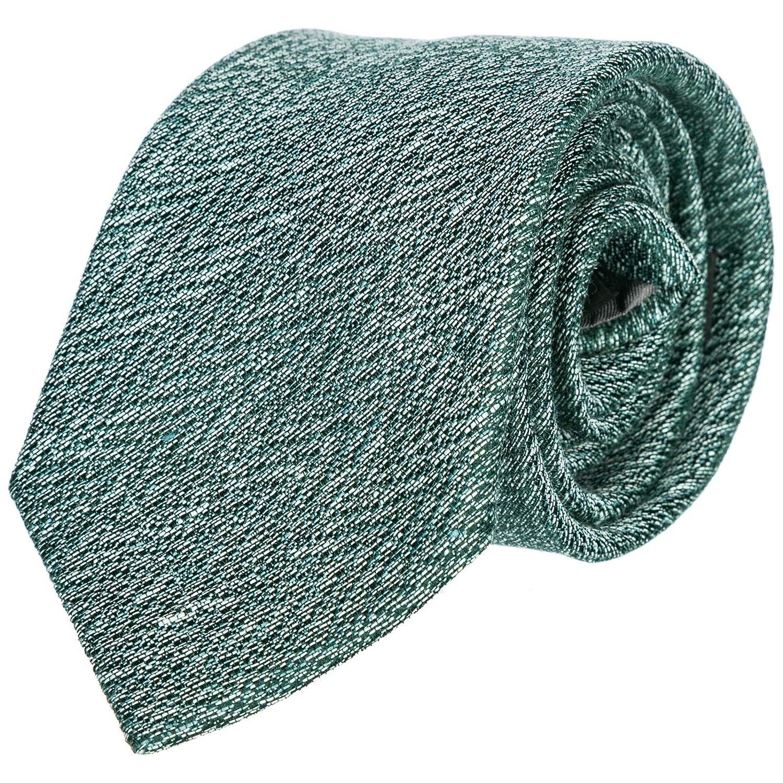 Emporio Armani corbata de hombre nuevo verde: Amazon.es: Ropa y ...
