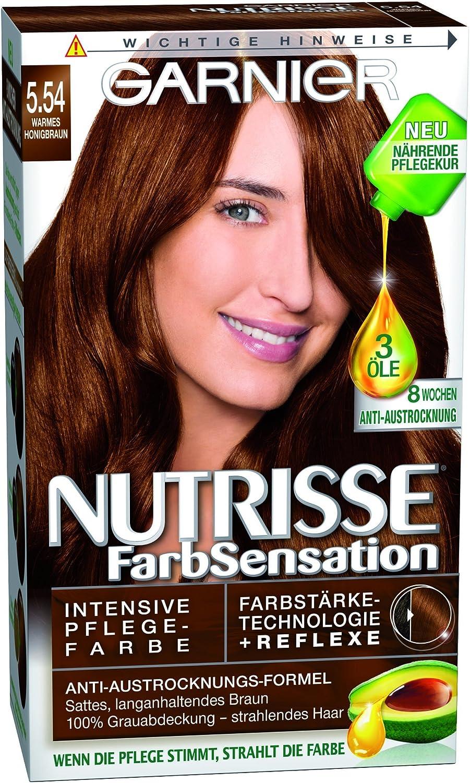 Garnier nutrisse Color SCRHTSENSA – Tion 5.54 Cálida miel ...