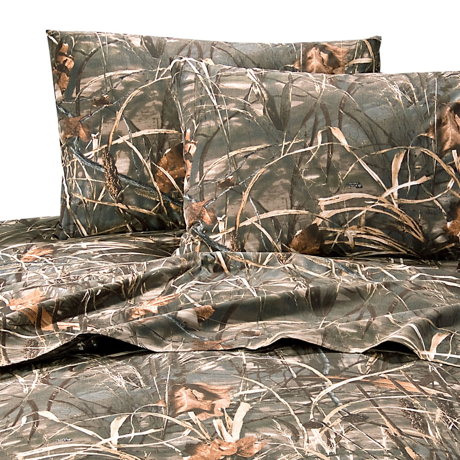 Realtree MAX-4 Camouflage 6 Pc TWIN Comforter Set