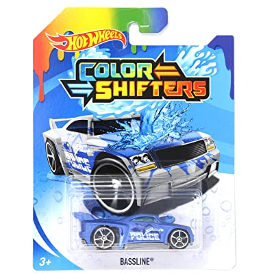 HW Color Shifters Bassline Police: Toys & Games