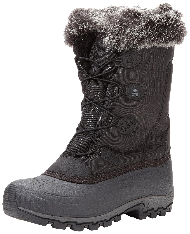 Kamik Women's Momentum Snow Boot B00AZOC83S 7 B(M) US|Black