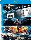 Blu ray 5-Movie Starter Pack: Lucy/Dracula Untold/47 Ronin/Immortals/R.I.P.D [Blu-ray] [2015] [Region Free]