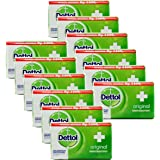 Dettol Anti-Bacterial Hand and Body Bar Soap, Original, 110 Gr / 3.88 Oz (Pack of 12)