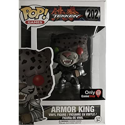 Funko POP! Armor King GameStop Exclusive #202 Tekken: Toys & Games