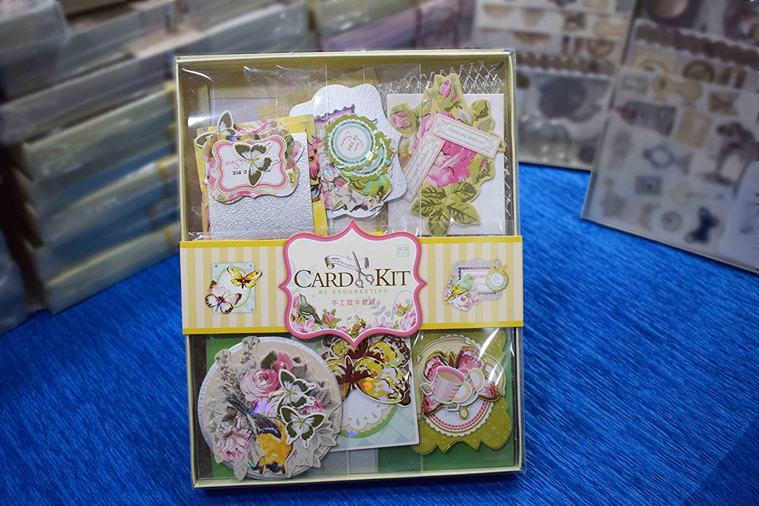 Buy Asian Hobby Crafts SCB001 DIY Card Making Kit Online At Low Prices In India