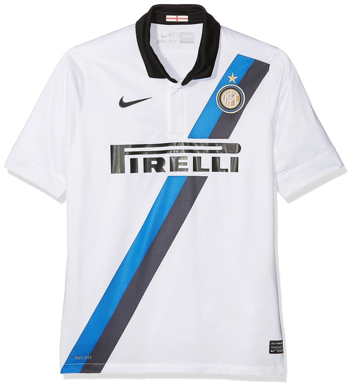 Nike Inter Milan SS Away Replica Shirt WhiteBlackBlue