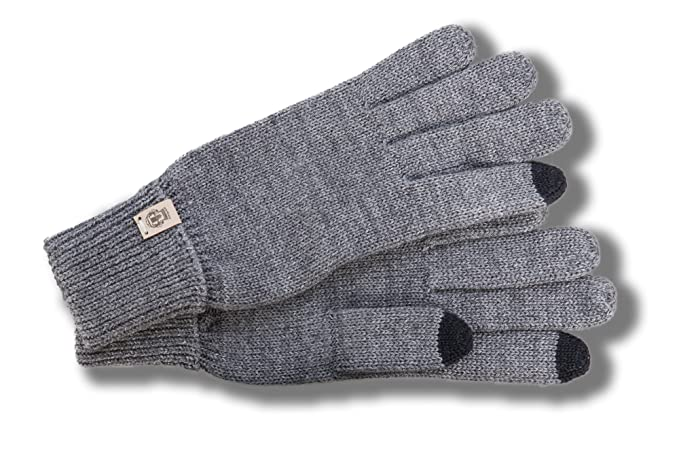 cf41eb6cdae Guantes de Mujer Touch Screen by Roeckl guantes con dedosguantes de mujer  (M - gris