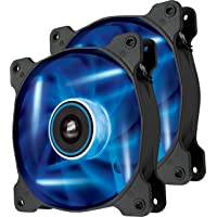 Corsair Air Series Blue LED Case Fan - Twin Pack