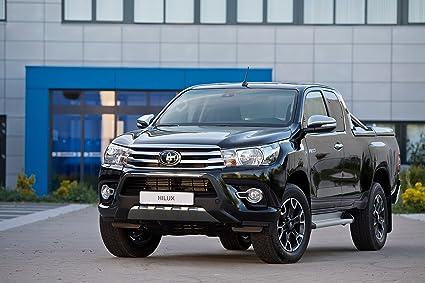 Toyota Hilux 2017 >> Amazon Com Toyota Hilux Xtra Cab Black Platinum 2017