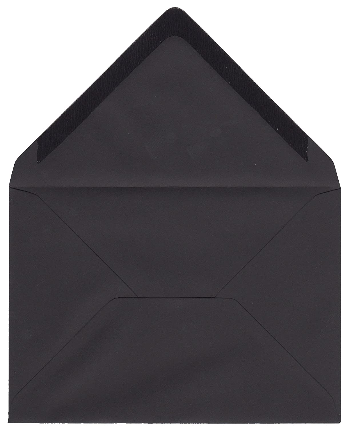 50 x C6 Night Black Envelopes - 100 GSM - for A6 Greeting Cards, Invitations, Correspondence Gobrecht & Ulrich HB-EN-OS-015f