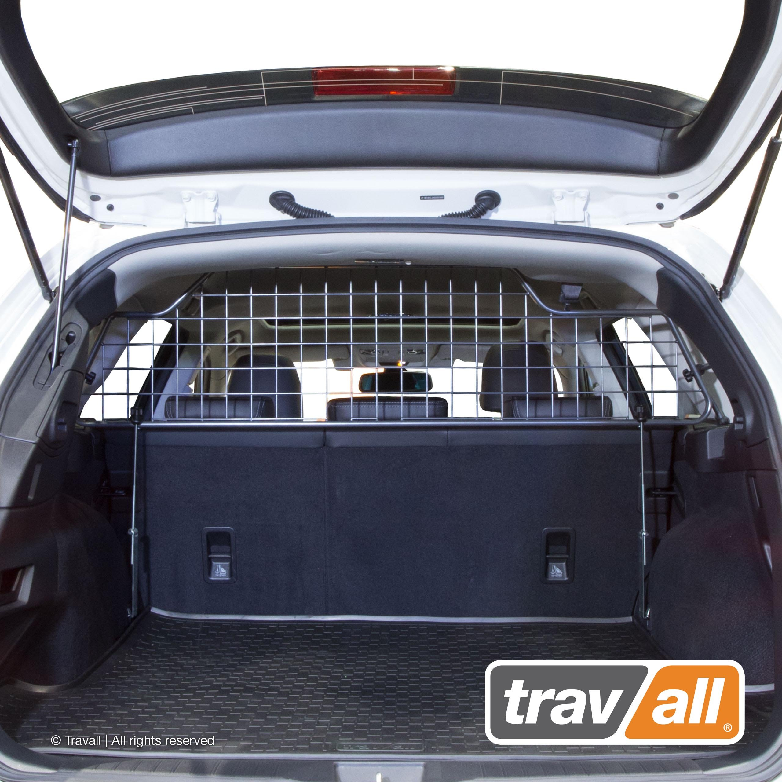 Travall Guard for Mercedes Benz C-Class Wagon (2014-Current) TDG1469 - Rattle-Free Steel Pet Barrier