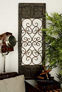 Deco 79 52792 Wood & Metal Wall Panel