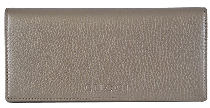 1b8dcb63fb9a Gucci Women's Golden Beige Leather W/Coin Pocket Continental Wallet ...