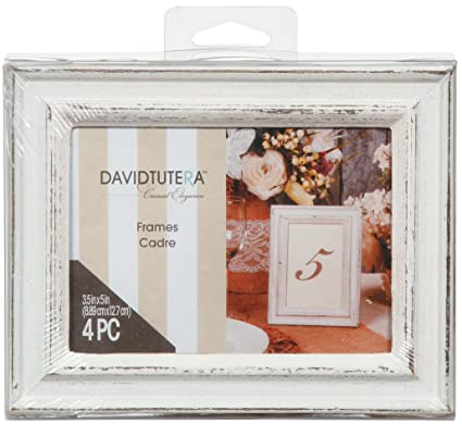 Amazon Whitewashed Distressed Picture Frames