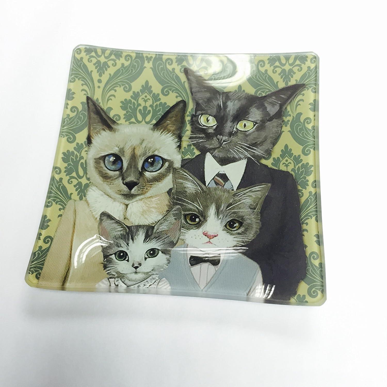 Perchero de pared de gato en caja con forma de cristal ...