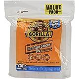 Gorilla 3027502 Hot Glue Sticks 4 In. Mini Size, 75Count