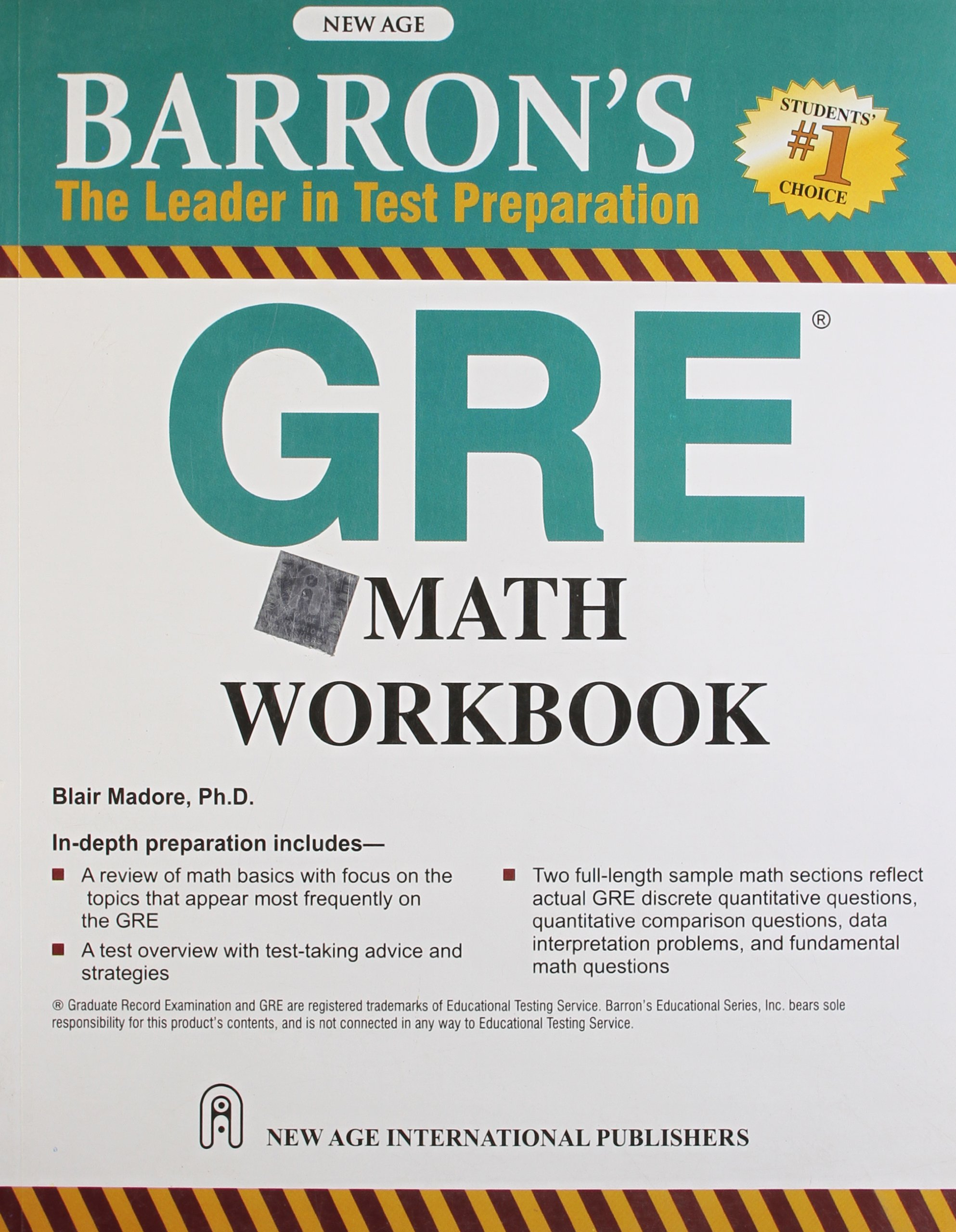Buy Barron`s GRE Math Workbook Book Online at Low Prices in India ...