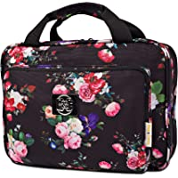 Large Hanging Travel Cosmetic Bag For Women - Versatile Toiletry And Cosmetic Makeup Organizer With Many Pockets Black…