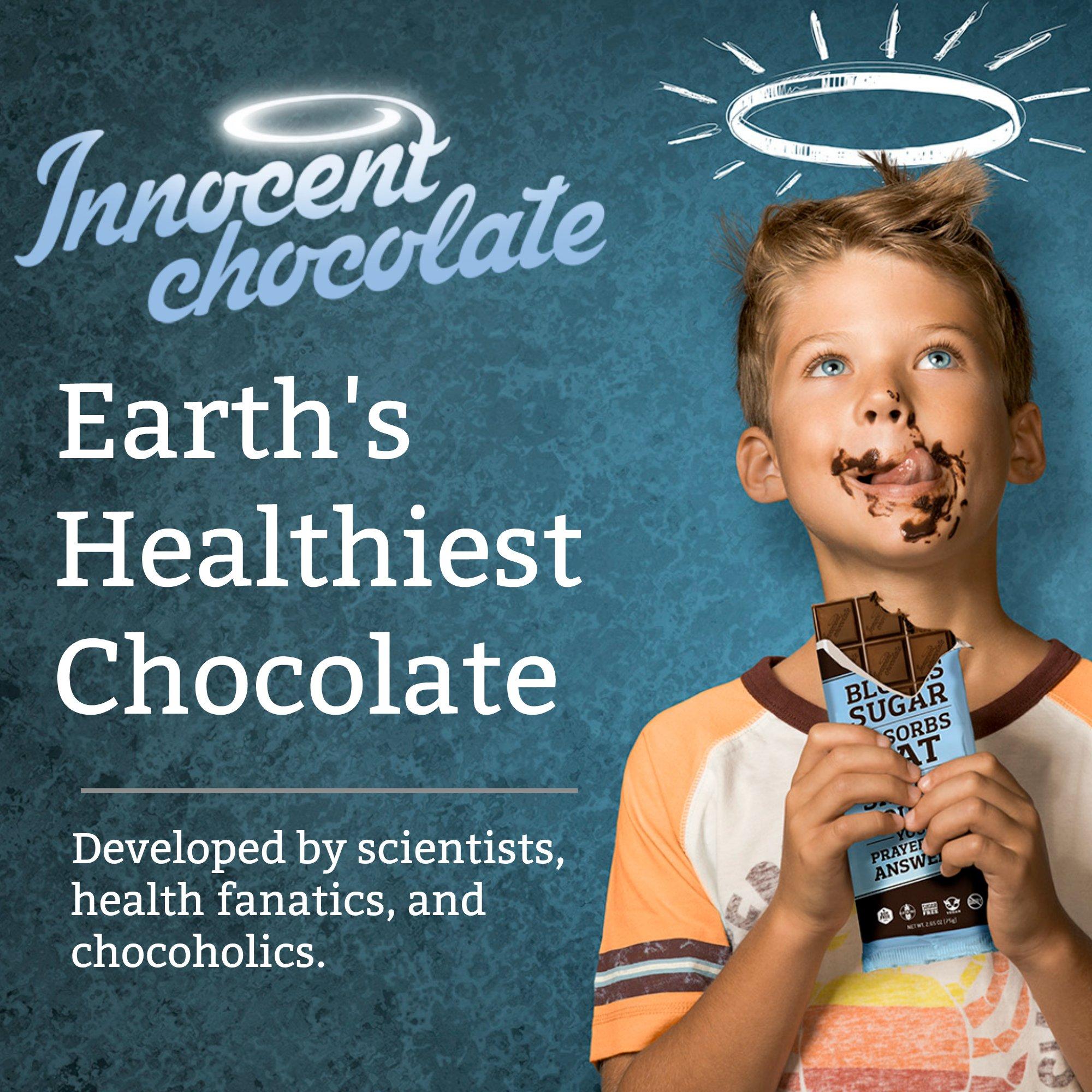 Innocent Chocolate – 60% Dark Chocolate Keto Bar and