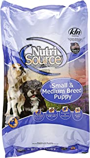 Amazoncom Nutrisource Smmed Breed Dry Puppy Food 15 Lb Pet Supplies