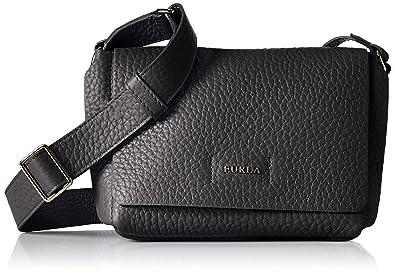 d7f8e8fb Amazon.com: Furla Women's Capriccio Mini Cross Body Bag, Onyx, One ...