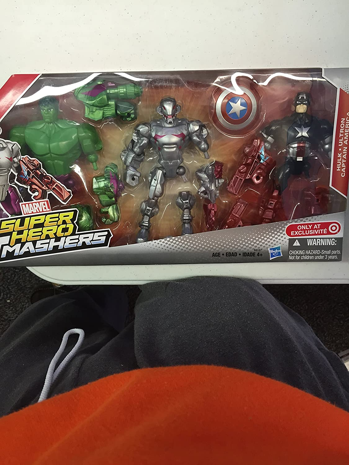 Marvel Super Hero Mashers Battle Mash Pack Hulk, Ultron & Captain ...