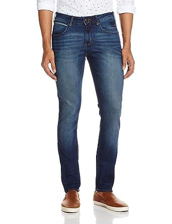 488e8cdd85 Wrangler Men s Vegas Slim Fit Jeans (8907222413583 WRJN1138E 40W x  33L Dirty Tinted)