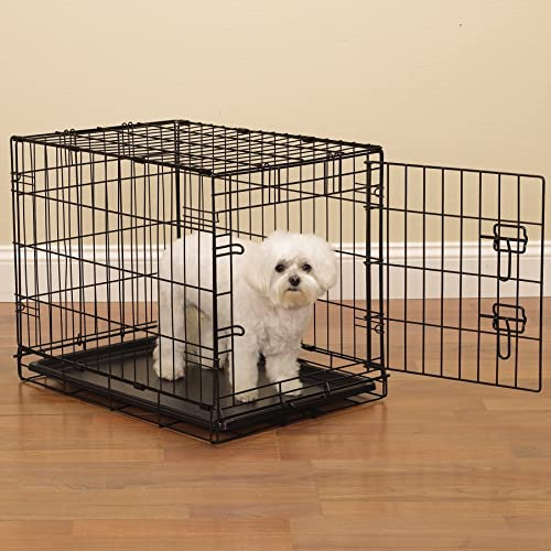 ProSelect Easy Dog Crates for Dogs and Pets – Black