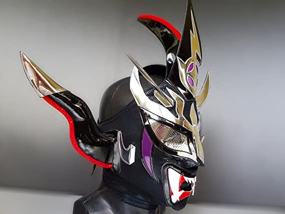 Amazon.com: JUSHIN LIGER WRESTLING MASK LUCHADOR COSTUME WRESTLER LUCHA LIBRE MEXICAN MASKE: Sports & Outdoors