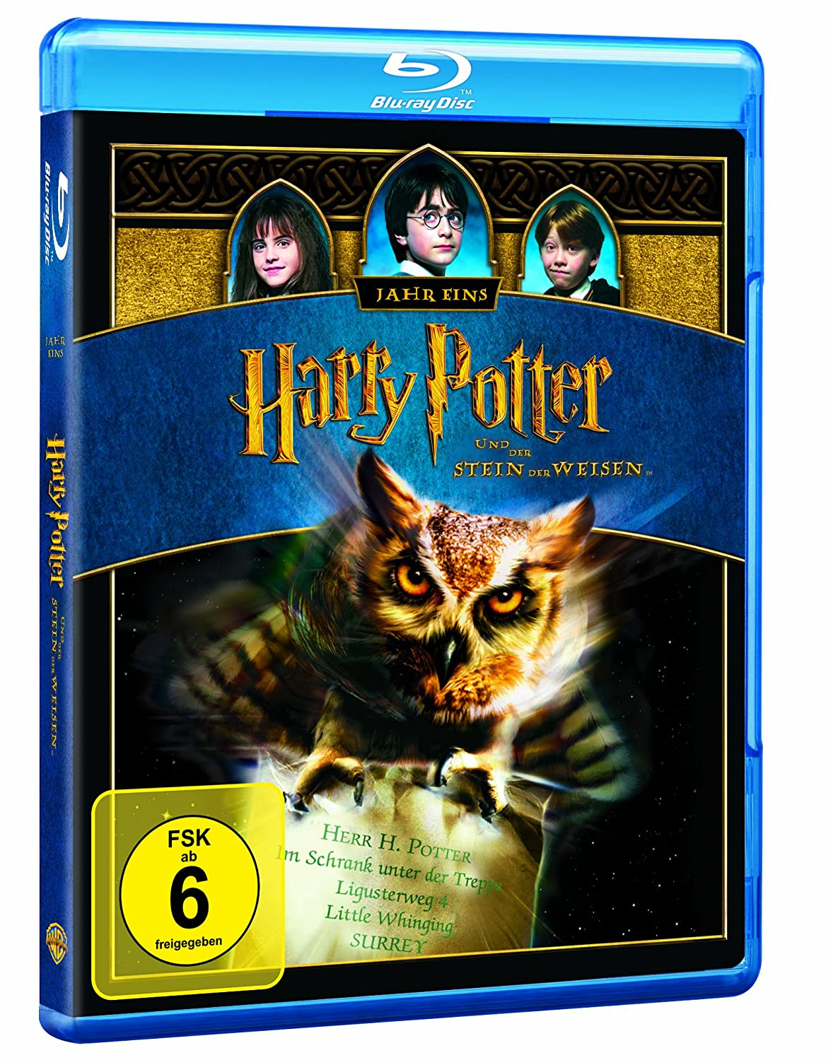 Amazon.com: Harry Potter und der Stein der Weisen: Movies & TV