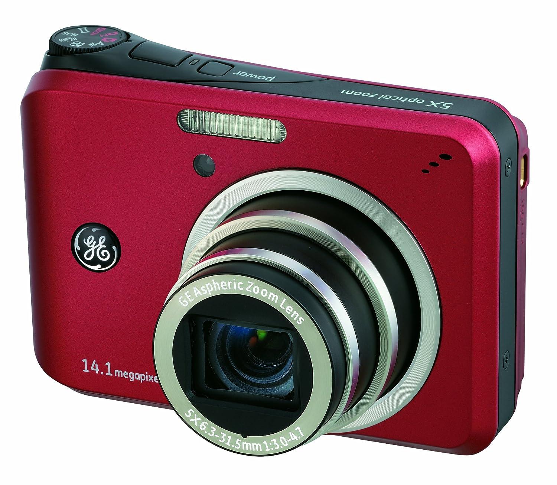 amazon com ge a1455 14mp digital camera with 5x optical zoom and rh amazon  com 2007 GE Digital Camera GE X400 Digital Camera