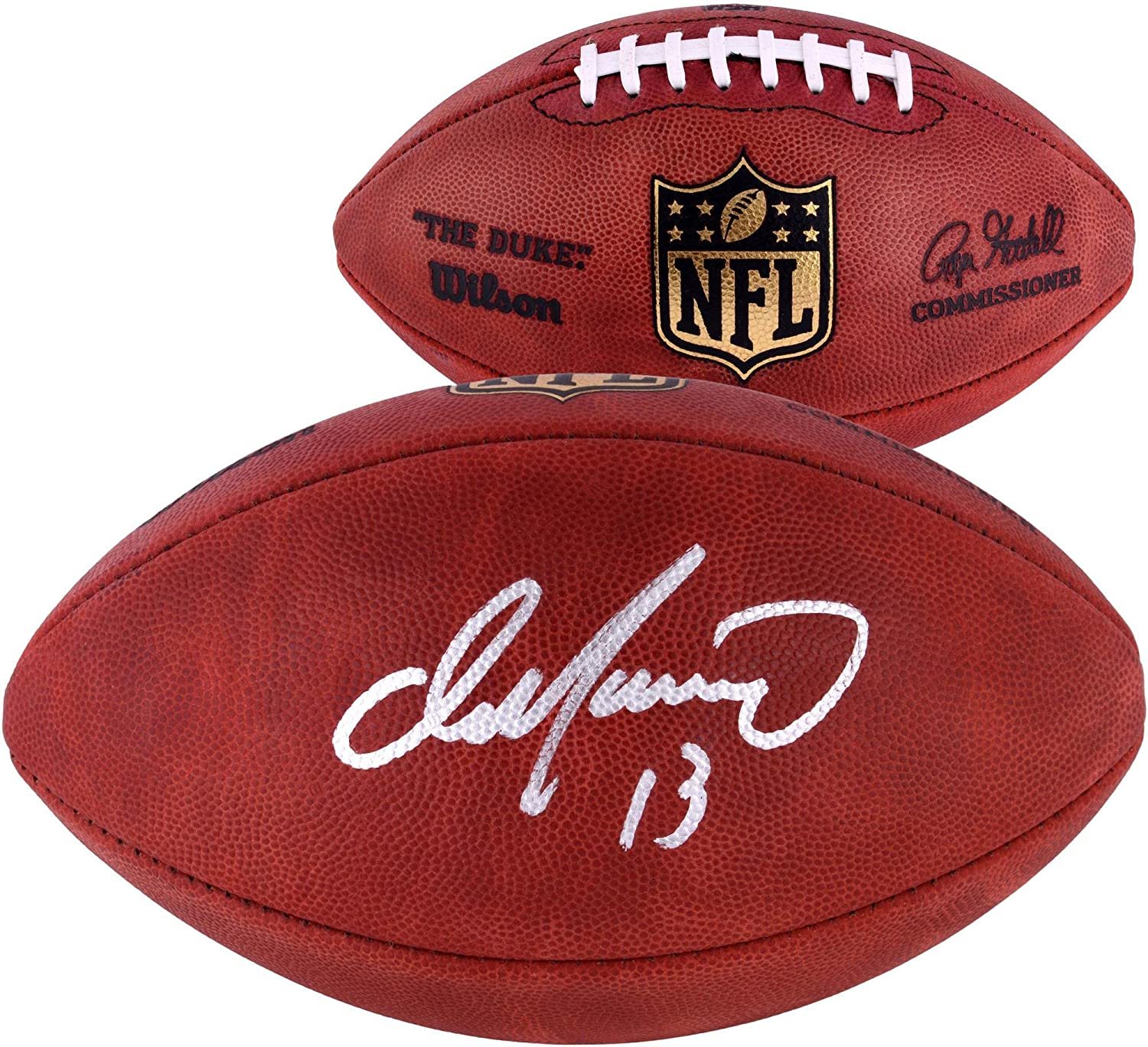 Dan Marino Miami Dolphins Autographed Duke Pro Football - Fanatics Authentic Certified - Autographed Footballs