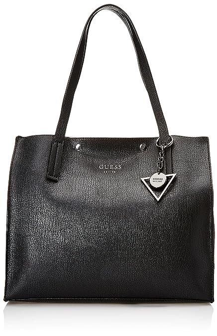9864478054a9 Guess Women s Hwvn6778230 Shoulder Handbag, Black (Nero), 17.5x31x35  centimeters (W