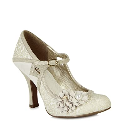 Ruby Shoo Yasmin (Cream)  Amazon.co.uk  Shoes   Bags 9011cfc7d