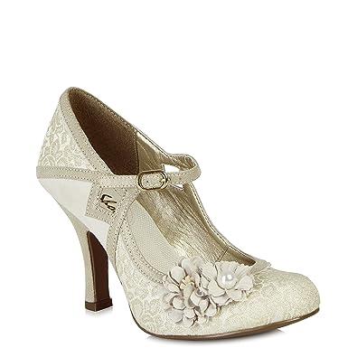 0456ec81 Ruby Shoo Yasmin (Cream): Amazon.co.uk: Shoes & Bags