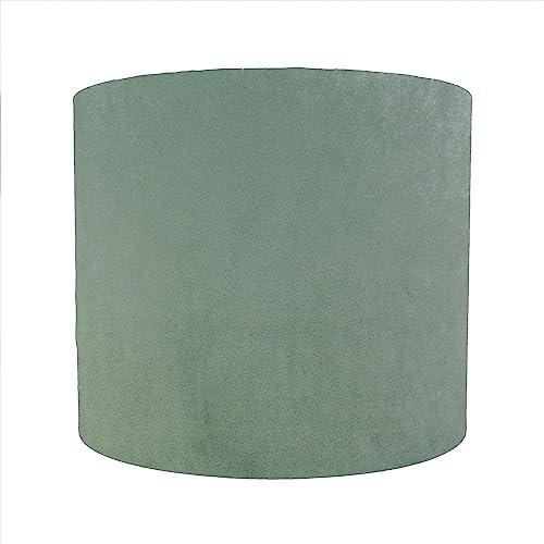 Popular Mint Green Velvet Lampshade: Amazon.co.uk: Handmade PO34