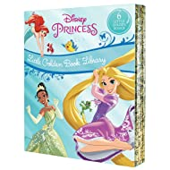 Disney Princess Little Golden Book Library (Disney Princess)