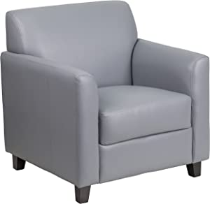Flash Furniture Gray Leather Chair