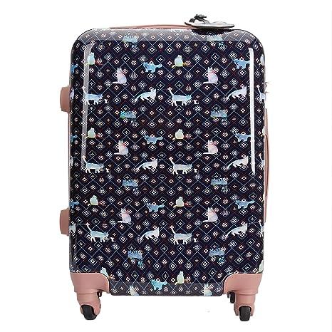 Parfois - Trolley Tuna Cat Travel - Mujeres - Tallas S - Azul Marino