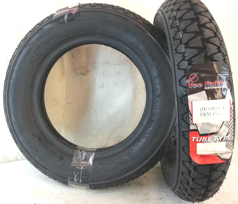 /10/56P Vee Rubber ideal f/ür Motorroller und Ape 50 1/Reifen 100//90/