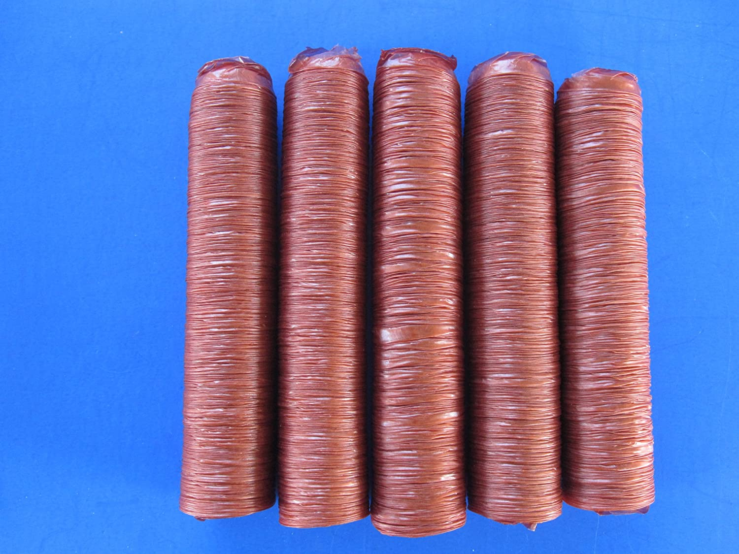 Smokehouse Chef EDIBLE 21 mm Snack Stick Collagen Casing for 25 lbs of Homemade Snack sticks, Slim Jims, Pepperoni etc.
