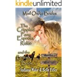 Mail Order Bride: The Crippled Pony Express Rider and the British Bride: Clean, and Inspirational Western Historical Romance