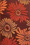 Mad Mats® Daisy Indoor/Outdoor Floor Mat, 5 by