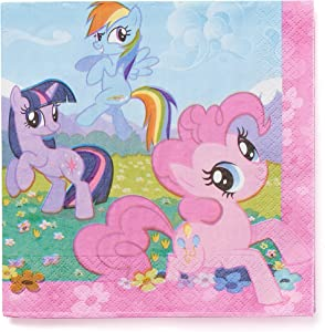 American Greetings My Little Pony Party Supplies, Paper Lunch Napkins (16-Count)