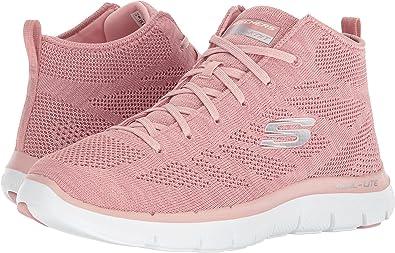 skechers pink flex appeal
