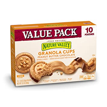 Nature Valley Peanut Butter And Chocolate Granola Cups 135 Oz